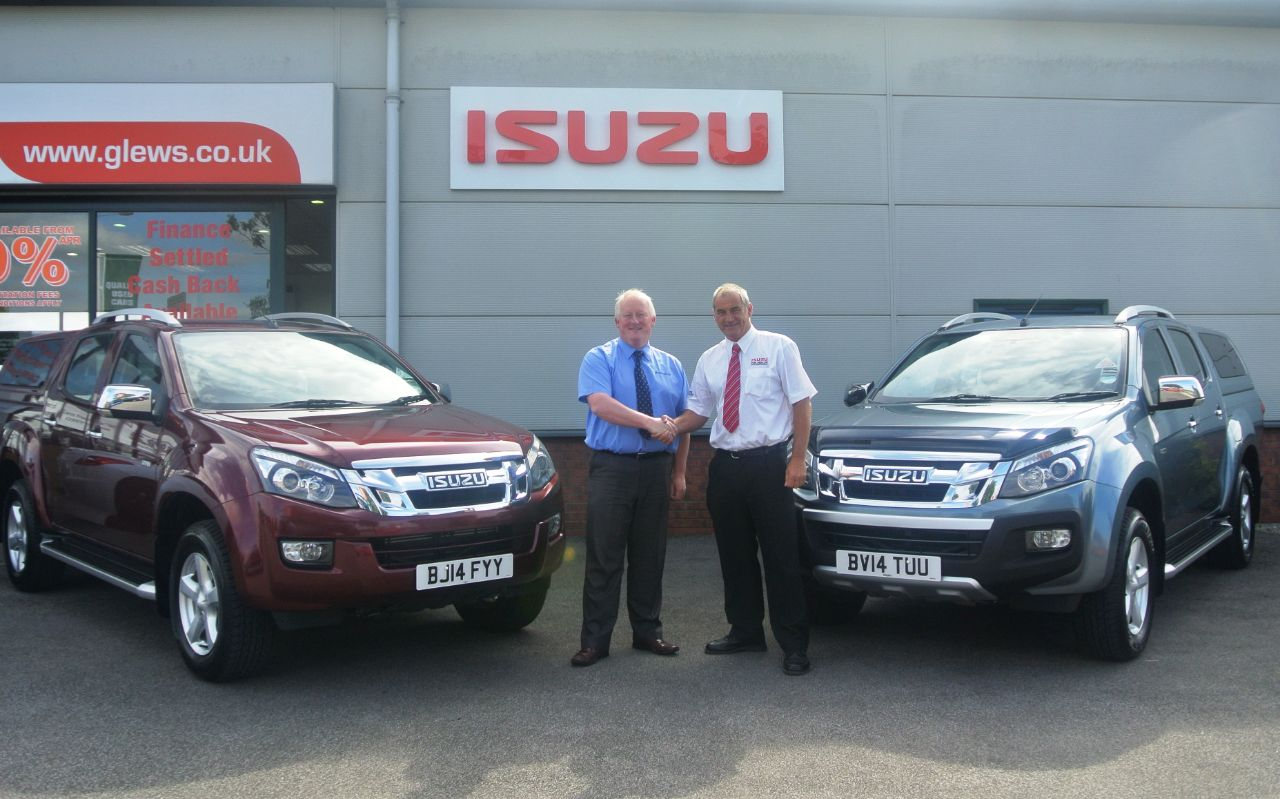 Glews Garage to start selling Isuzu
