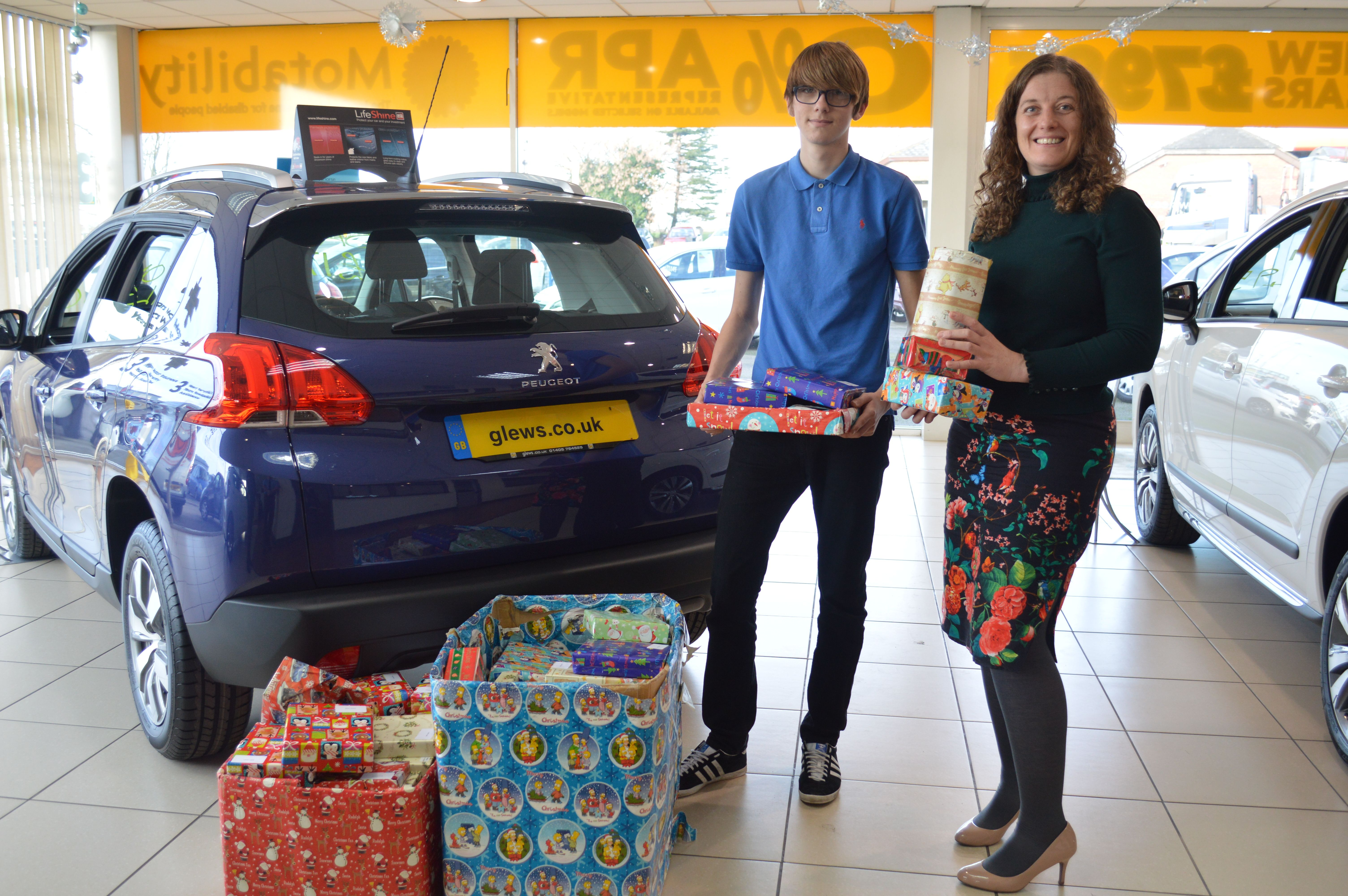 Glews Garage donates presents to village in The Gambia