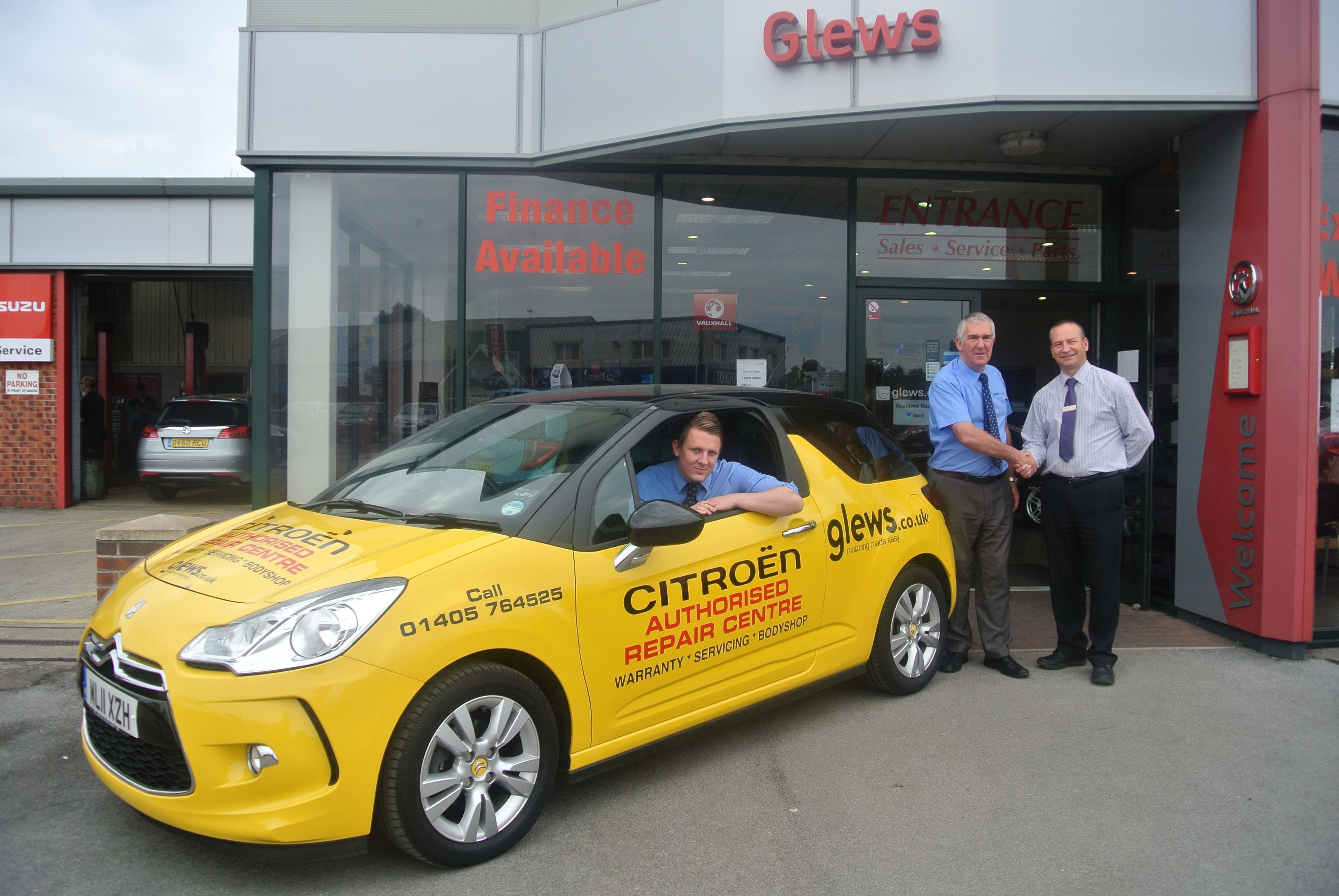 Glews Garage is Citroën approved repairer