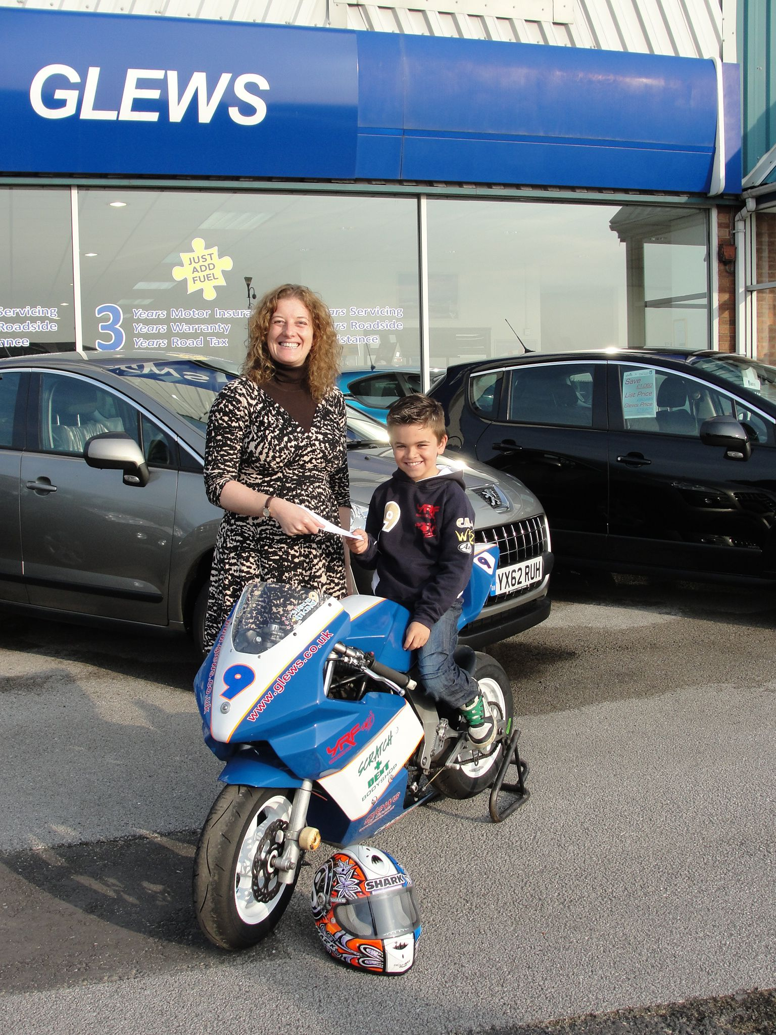 Glews puts fuel into young racer's Championship hopes