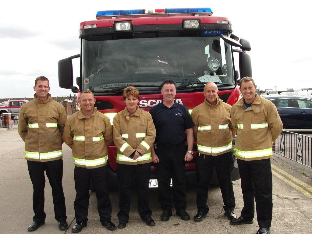 Glews Assists Fire Brigade with Electric Car Safety Training