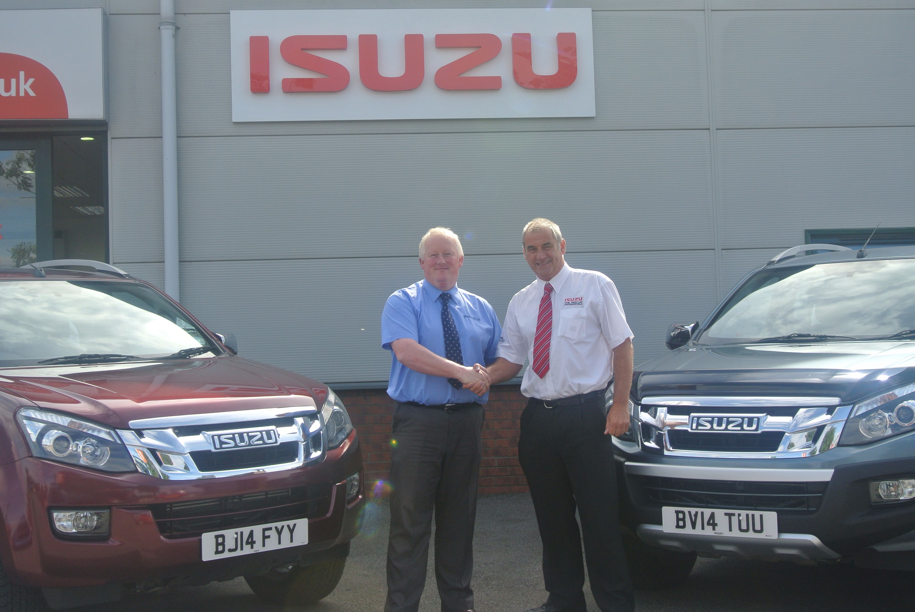 It is all about Customer Service for Glews Garage Isuzu in Yorkshire