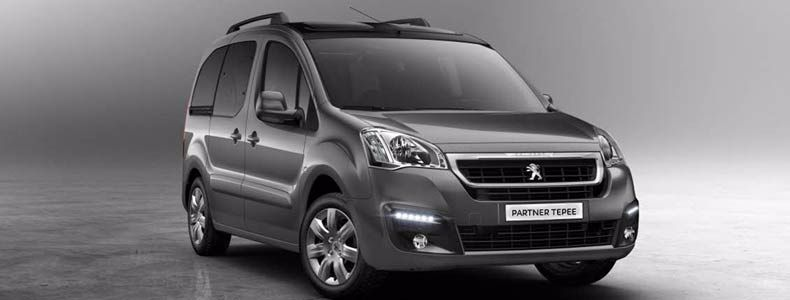 glews new peugeot partner tepee