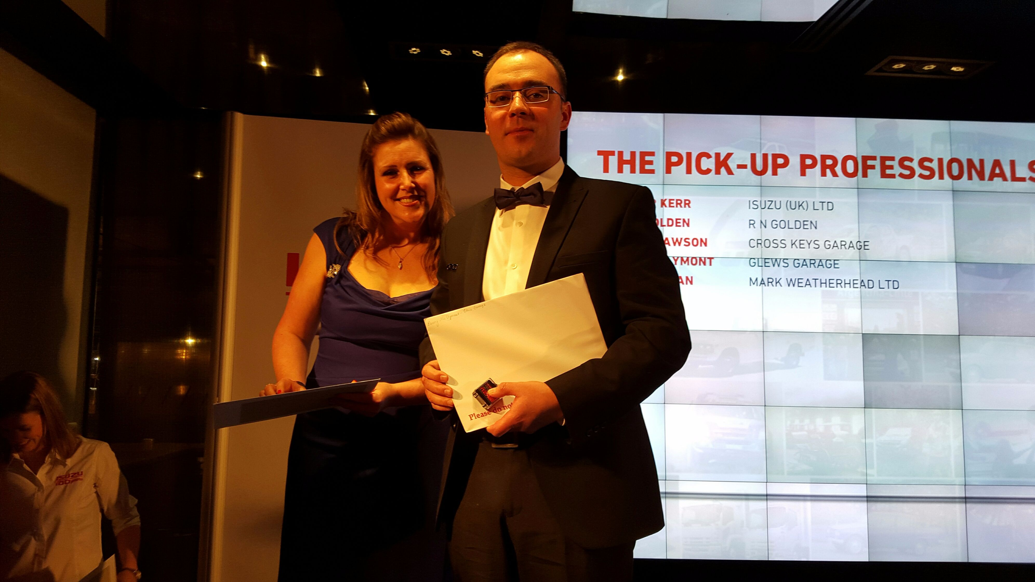 Award for Isuzu Pick up Professional